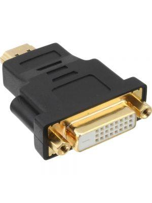 Optimus adapter DVI 24+1 ženski na HDMI muški, crni