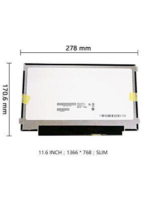 Laptop TFT-LCD ekran panel, 11.6