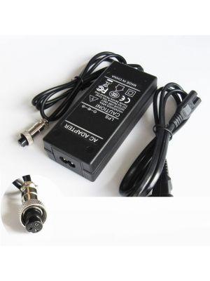 Optimus zamjenski električni skuter punjač 84w (42v-2a) 100-240v, kompatibilno s Rad2Go, 3 rupe 8.5mm konektor
