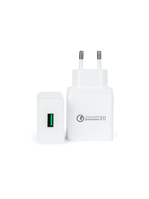 QC Qualcomm 3.0 brzi zamjenski usb punjač 18w, kompatibilno s Sugar