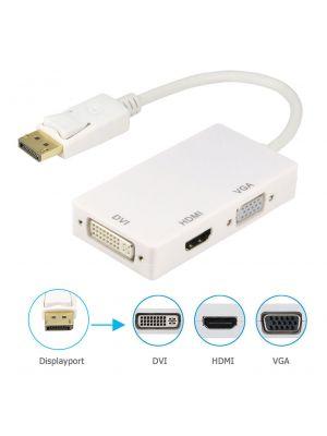 Optimus adapter konverter DP muški na HDMI/DVI/VGA ženski