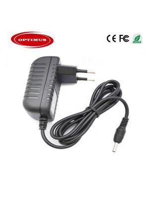 Optimus zamjenski adapter 12v 3a 36w, 100-240v 50-60Hz kompatibilno s Audiosonic, 5.5x2.1mm konektor