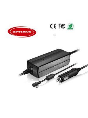 Optimus zamjenski 12/24v laptop auto punjač 90w (19v-4.74a), kompatibilno s Toshiba, 4.0x1.7mm konektor