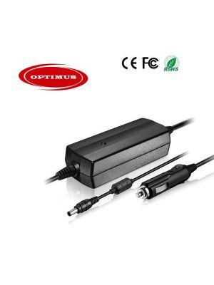 Optimus zamjenski 12/24v laptop auto punjač 90w 19v 4.74a, kompatibilno s Gericom, 5.5x2.5mm konektor