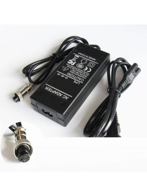 Optimus zamjenski električni skuter punjač 84w (42v-2a) 100-240v, kompatibilno s Razor, 3 rupe 8.5mm konektor