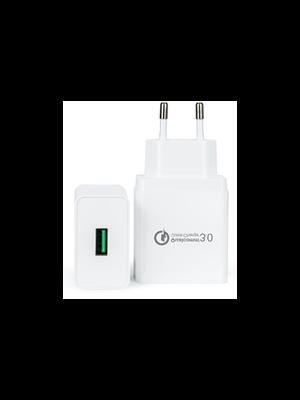 QC Qualcomm 3.0 brzi zamjenski usb punjač 18w, kompatibilno sa Samsung