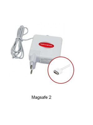 Optimus zamjenski laptop punjač 85w 20v 4.25a, 100-240v 50-60Hz kompatibilno s Apple, Magsafe2 magnetni konektor