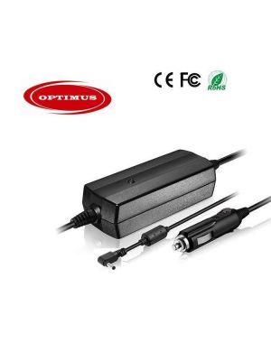 Optimus zamjenski 12/24v laptop auto punjač 90w (19v-4.74a), kompatibilno s Asus, 4.0x1.7mm konektor