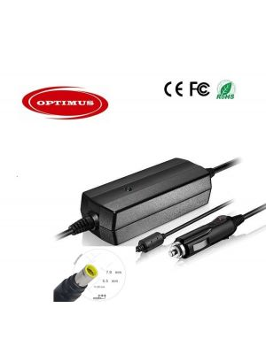 Optimus zamjenski 12/24v laptop auto punjač 90w 20v 4.5a kompatibilno s Lenovo Ibm, 7.9x5.5mm konektor
