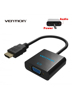 Vention HDMI na VGA konverter adapter s audio izlazom i ulazom napajanja