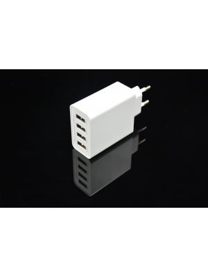 Optimus travel charger 4xUsb Smart IC:48w (5v-2.4a), 100-240v