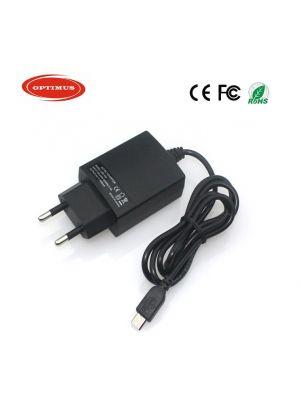 Optimus zamjenski kućni punjač 5v 2a 10w 100-240v 50-60Hz kabel 1.5m kompatibilno s BlackBerry micro usb konektor